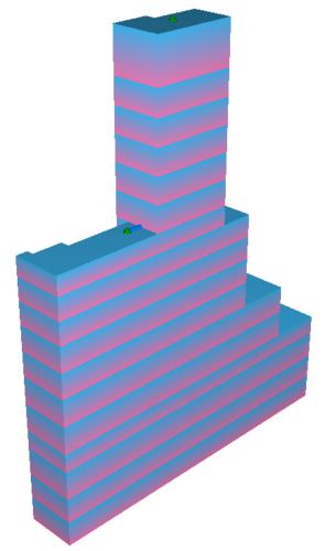 計算モデル(ソリッド表示)